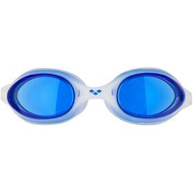 arena Spider duikbrillen blauw/wit